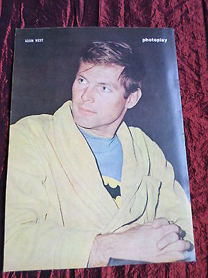 Adam West- Film Star - 1 Page  Picture- Clipping/cutting