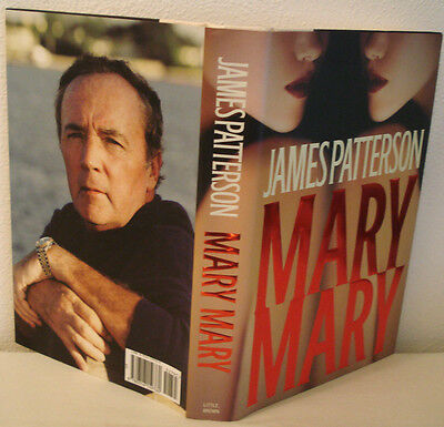MARY MARY by JAMES PATTERSON - DETECTIVE ALEX CROSS - A REAL THRILLER!