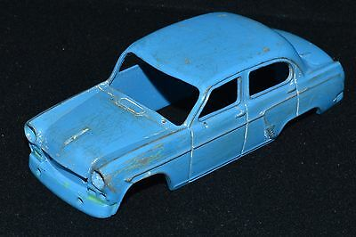 RARE CAR VINTAGE Russian Soviet USSR toy Tin old СССР metal model MOSKVICH 403