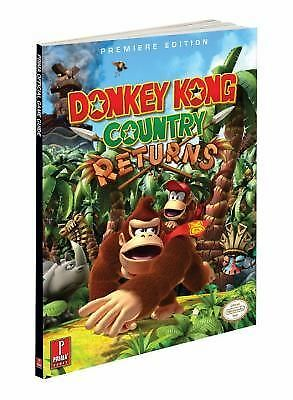 Donkey Kong Country Returns : Prima Official Game Guide by Prima Games NEW!