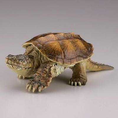 RARE Kaiyodo Museum Q Common Snapping Turtle Figure