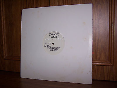 Busta Rhymes, Gina Thompson WEA Test Pressing  Why Do Fools Fall in Love EX/VG+