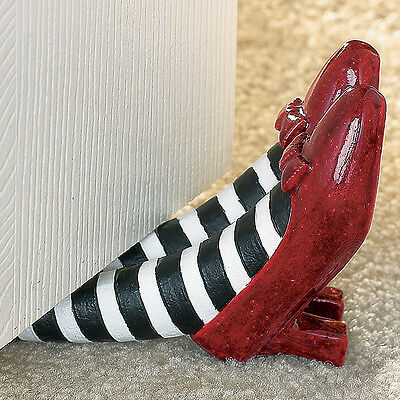NEW The Wizard of Oz Red Ruby Slippers Doorstop - Wicked Witch Collectible