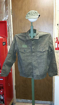 Czech military surplus BDU coat and hat