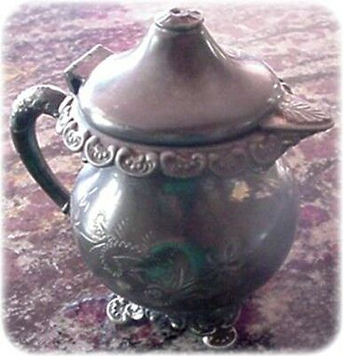 Antique -was- Silver Plated Creamer for Restoration