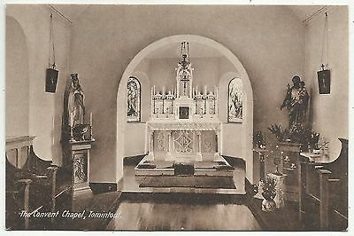 POSTCARDS-SCOTLAND-TOMITOUL-PTD. Interior of The Convent Chapel.