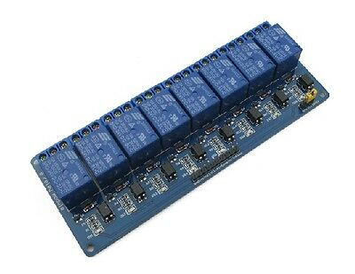 DC 24V 8 Channel Relay Module With Optocouple Relay Control Board For SCM PLC