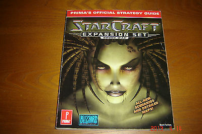 starcraft expansion set brood war prima's official strategy guide manual book