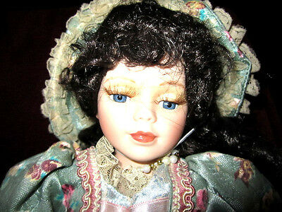 """1998 Original Angelina Collection """"Angelina Visconti"""" Victorian Porcelain Doll"""