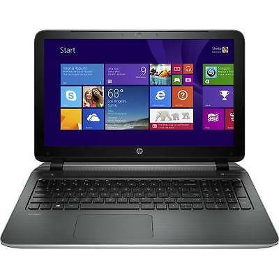 "HP Pavilion p114dx 15.6"" Laptop Intel Core i7-4510u 6GB Memory 750GB HDD /Ash"