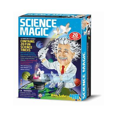 Science Magic Kit Kids Educational Activity Toy