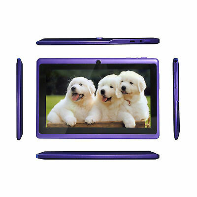 """Latest 7"""" Google Android 4.2 Capacitive Tablet PC Dual Core 1.5GHz 8 GB A23 WIFI"""