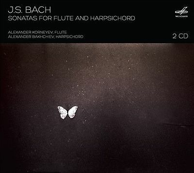 NEW Bach: Sonatas For Flute And Harpsichord CD (CD)