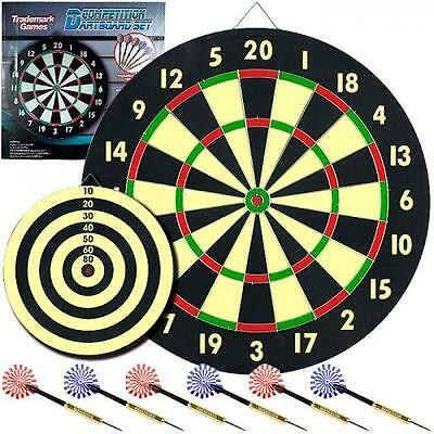 TG? Game Room Dart Set with 6 Darts and Board