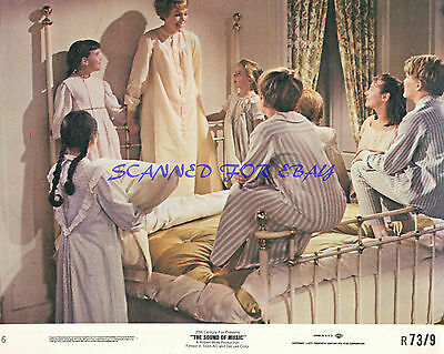 THE SOUND OF MUSIC JULIE ANDREWS AND CHILDREN  WONDERFUL 8X10 PHOTO