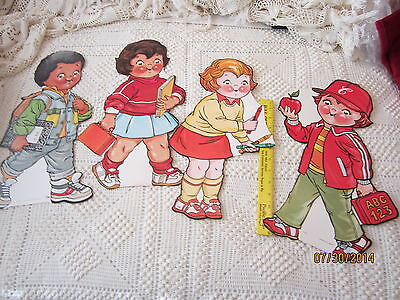 Campbells Soup Kids Lithographs, Lot of 4, Posters,VINTAGE, 1980'S,  CLASSROOM