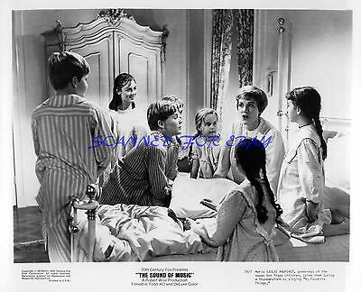 THE SOUND OF MUSIC JULIE ANDREWS ORIG STUDIO 8X10 1979 RE-RELEASE