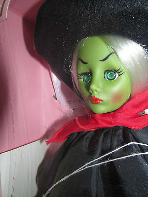 Effanbee Wizard of Oz Wicked Witch Doll wizard Of OZ 1980s Green EYES  NIB