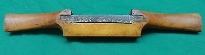 "3-1/2"" BLADE SPOKE SHAVE MADE FROM BOXWOOD"