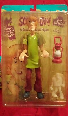 SCOOBY DOO ACTION FIGURE SERIES #1.  Shaggy SUPER RARE NEW MIP CARTOON NETWORK