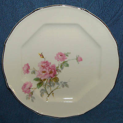 Taylor Smith TST195 Paramount Pink Rose Bread Plate (s)