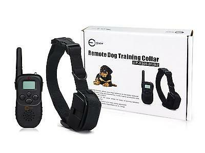 LCD 100LV Level Electric SHOCK&VIBRA REMOTE PET DOG SAFE TRAINING SHOCK COLLAR