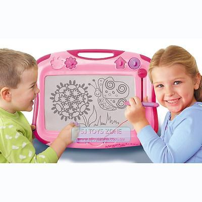 NEW Tomy Megaskecher Pink  Kids Classic Drawing Board Doodle Fun