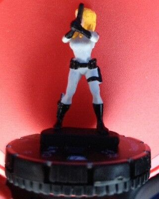 AA Heroclix SHARON CARTER 022 Uncommon Unique Marvel Shield WITH CARD