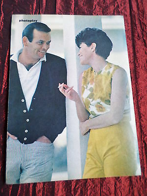 David Janssen - Film Star - 1 Page  Picture- Clipping/cutting -#1