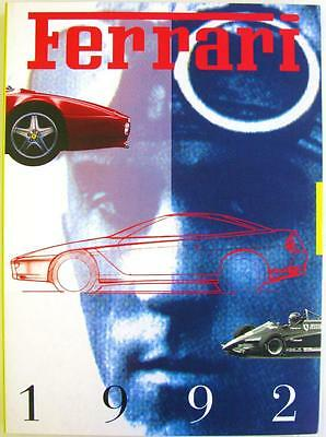 Ferrari Yearbook 1992 Franco Gozzi Car Book