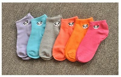 2 Pairs Women's  Pink & light blue Floral Dotted Casual Cotton Socks Size5-7