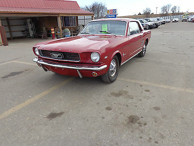 Ford : Mustang 2 door coupe 1966 66 ford mustang coupe