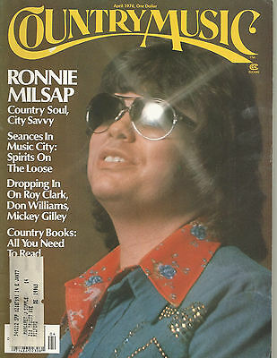 Ronnie Milsap Covers Country Music Magazine April 1976 Don Williams