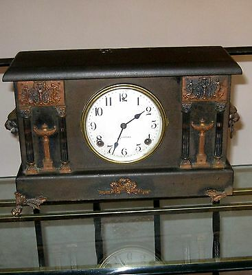 Antique Sessions Mantle Clock Chime Bell Fancy Decorations Parts Repair