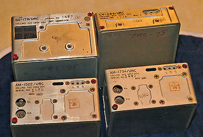 4 Collins Radio Modules Some / All? Probably from ARC-58 / TRC-75