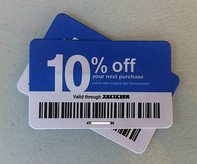 3 x 10% Off: For use at Lowe's Competitors  - Home Depot, ACE &  Menards (7/15)