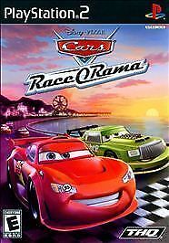 DISNEY CARS RACE O RAMA COMPLETE PS2 PLAYSTATION 2 GAME