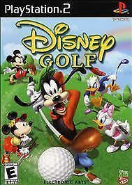 DISNEY GOLF COMPLETE PS2 PLAYSTATION 2 GAME
