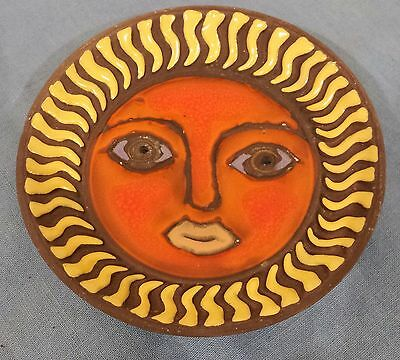 Vintage Fitz and Floyd Small Sun Face Dish