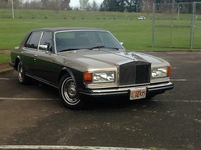 Rolls-Royce : Other 1984 rolls royce silver spur very good condition
