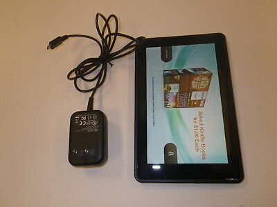 "Tablet Amazon Kindle Fire 7"" WiFi Internet PC eReader Tested Good"