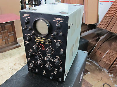 Vintage Army Signal Corps Waterman BC-1060-A Oscilloscope