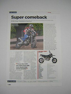 CCM R35 Road Test article from 2006 - Original