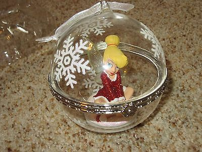 Disney Store Limited Edition Tinkerbell ornament