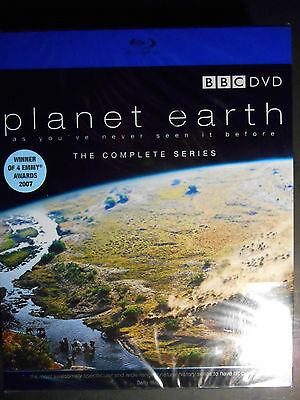 Planet Earth BBC The Complete Series Blu-ray W/Slipcover