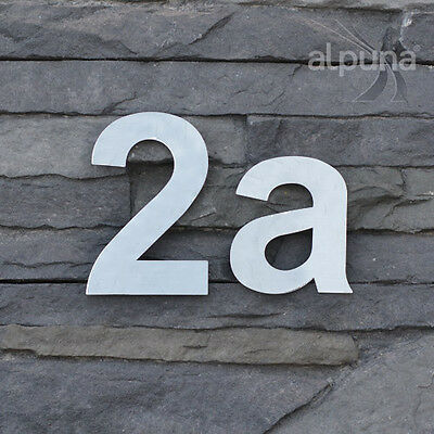 Stainless Steel House Numbers 16cm High