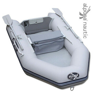 ALPUNA nautic IBT 230 AIR gris Airmate Angelboot Gonflable Bateau d'aviron