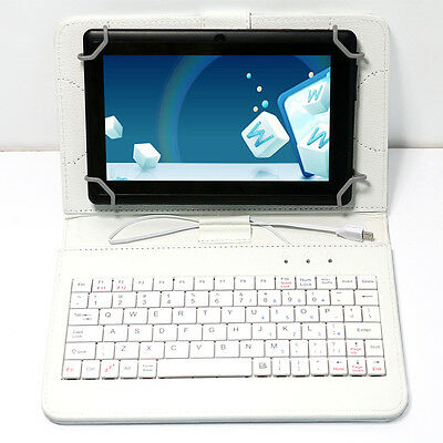"""7"""" Google Tablet PC Android 4.2 WIFI A23 Dual Core Camera Black 16GB W/Keyboard"""