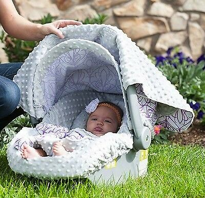 Carseat Canopy Caboodle Infant Car Seat Canopy Cover 5 piece Set Covers