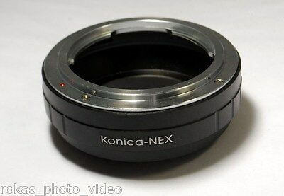 Konica AR Hexanon Lens to Sony NEX/ILCE E Mount 5 7S Camera mount Adapter Ring